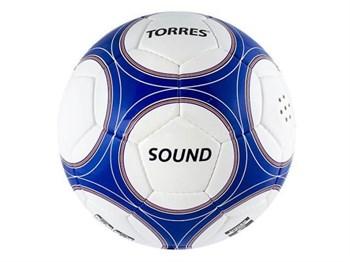 Мяч футбольный Torres Sound № 5 - фото 8629