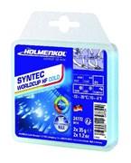 Holmenkol Синтетическая гоночная мазь с высоким содержанием фтора Syntec WorldCup HF COLD  2x35г (