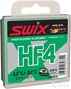Swix Мазь скольжения HF4X Green -32C/-12°C 40г