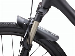 BBB Крыло FlexFender PP material Black BFD-31