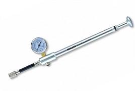 GIYO Насос высокого давления для вилок и амортизаторов, до 300 psi (21 атм) с манометром